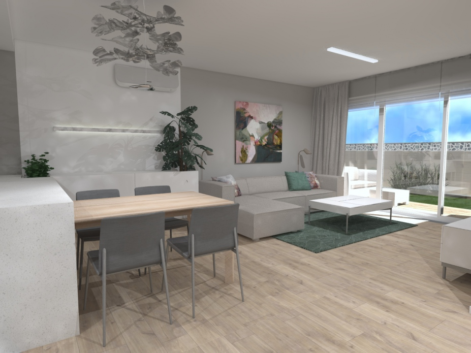 projekt wnętrz apartamentu Bielsko-Biała