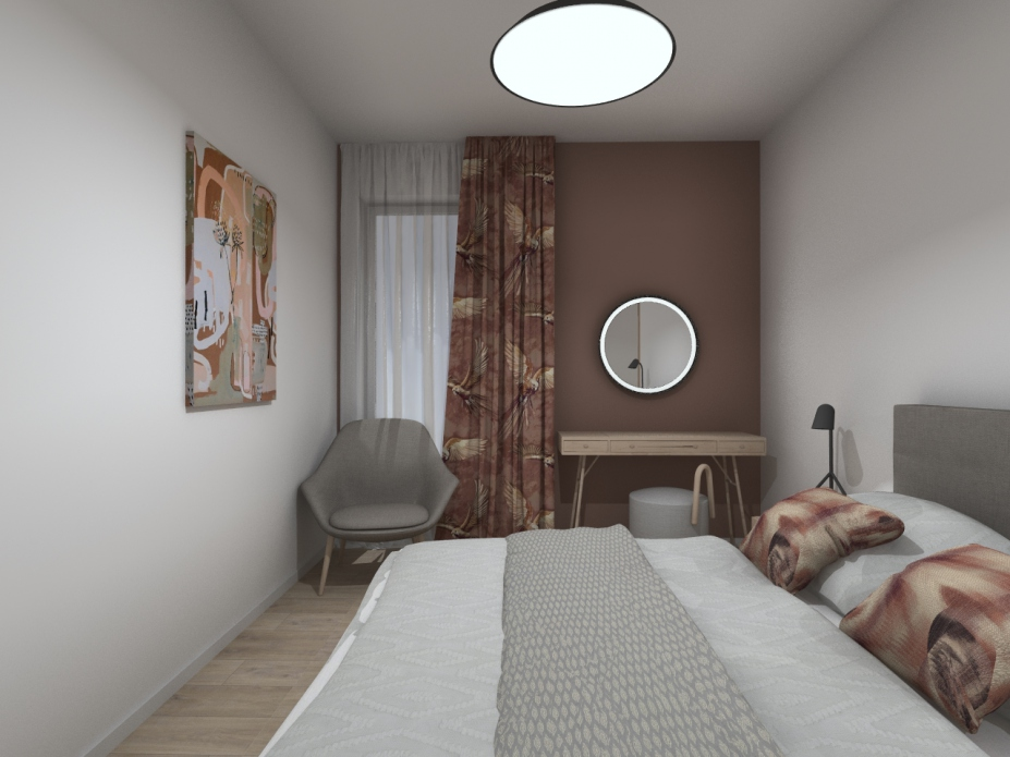 projekt sypialni Bielsko-Biała