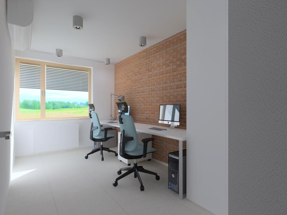 Projekt wnętrz domu jednorodzinnego