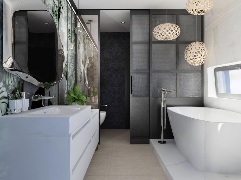 Projekt łazienki 1