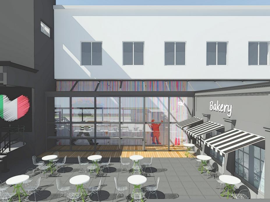 foodpark ustroń projekt