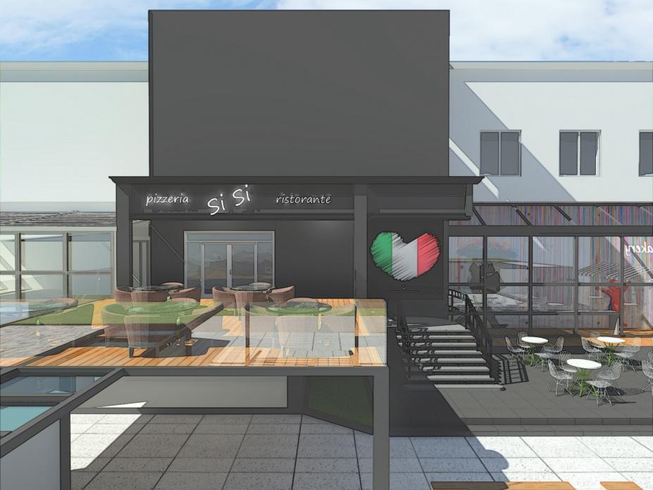 food park ustroń projekt