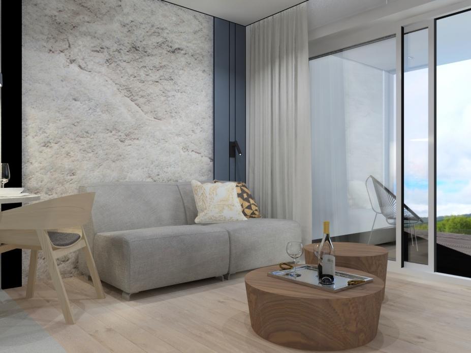 apartament 4.1  typu studio