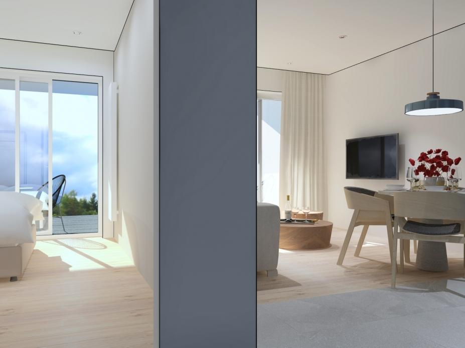 apartament 2.4 z sypialnią
