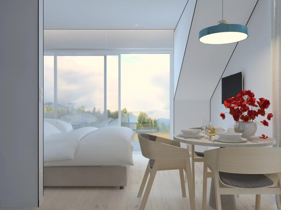 apartament 4.2 typu studio