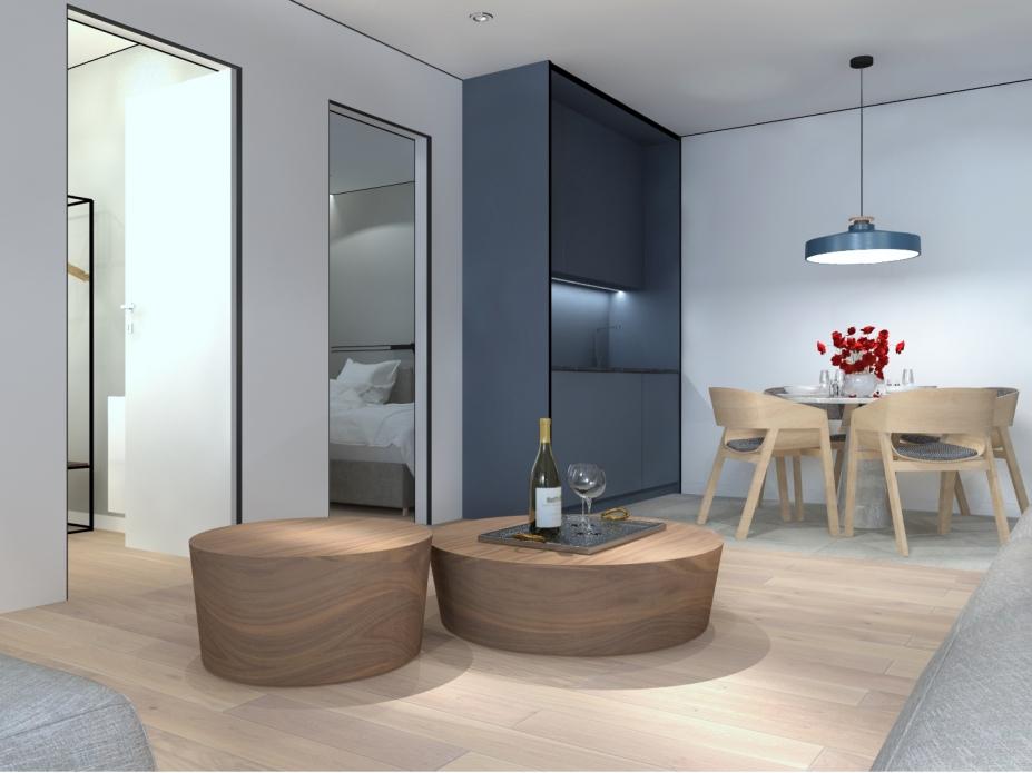 apartament 3.5 z dwiema sypialniami