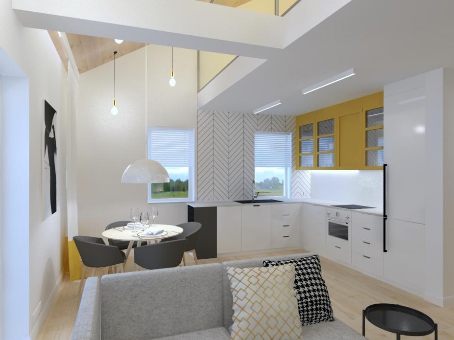 Bielsko-Biała - projekt apartamentu
