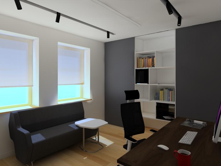 Projekt domowego biura