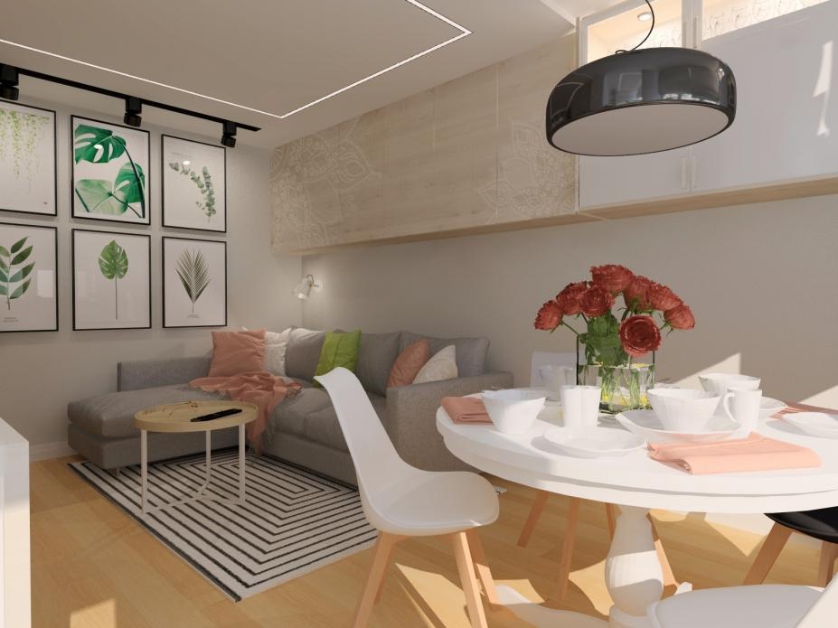 projekt salonu 2